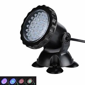 Pond Lights Underwater Fountain Light 3.5W Color Changing Submersible Spotlight