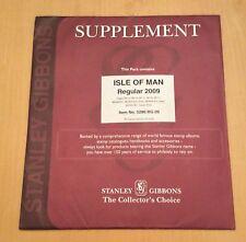 StanleyGibbons Supplement Isle Of Man Regular 2009 Item No.5286 RG 09