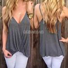 Sexy Women Ladies Summer Casual Sleeveless T-Shirt Loose Vest Tank Tops Blouse