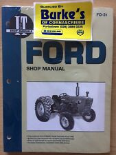 FORD TRACTOR 2000, 3000, 4000, OPERATORS MANUAL PRIOR TO 1975