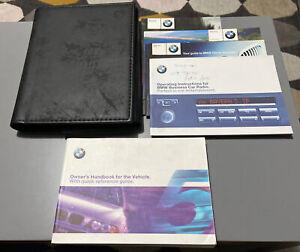 BMW 5 SERIES OWNERS MANUAL HANDBOOK FOLDER SET 520 525 530 535 540 E39 1995-2003