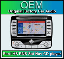 Ford S-Max Sat Nav car stereo, Ford HS RNS Navigation CD player radio, Map Disc