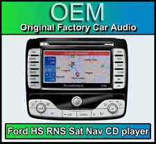Ford Mondeo Sat Nav car stereo, Ford HS RNS Navigation CD player radio, Map Disc