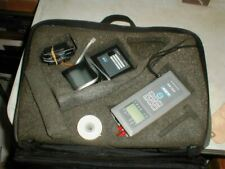 ALNOR Model AXD550 Micromanometer & #8521 Micro Printer in Case with Extras
