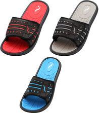 NORTY Men's Fashion Beach, Pool, Casual, Shower Adjustable Strap Slide Sandal