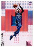 2017-18 Status Wes Iwundu Magic #119 NBA Rookie RC PWE