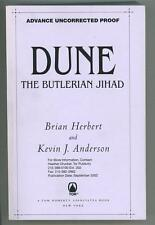 Dune: The Butlerian Jihad by Brian Herbert & Keith J. Anderson (Proof)- High Gra
