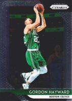 2018-19 Panini Prizm Basketball #158 Gordon Hayward Boston Celtics