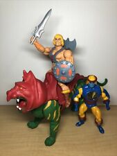 MOTU Origins He-Man Battle Cat Vintage Sy-Klone Revelation Masters Of Universe