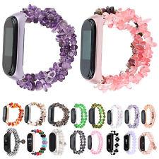 Jewelry Watch Strap For Xiaomi Mi Band 5 4 3 Smart Bracelet Bangle Band w Cover