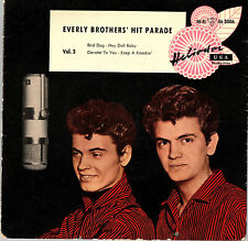 """THE EVERLY BROTHERS   EP  HELIODOR   """" HIT PARADE  VOL.3 """"   [Allemagne]"""