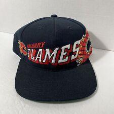 Vintage Calgary Flames Hat Nhl Sports Specialties Nwot Nice
