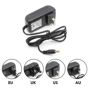 Universal Charger DC 12V 1/2/3A Power Adaptor Supply Transformer For LED Strip