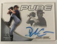 Dylan Cease Chicago White Sox MLB Pure Leaf 2014 Glass autograph signed Georgia