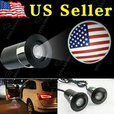 5Th Gen Car Laser Projector Logo Ghost Shadow Door Step LED Light USA Flag
