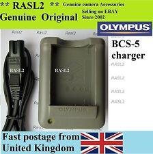 Origine Olympus Chargeur BCS-5 BLS-5 PEN E-PL5 E-PL3 E-P3 E-PL2 E-PL6, #