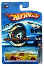 2005 Hot Wheels #114 Crazed Clowns II 1941 Willys Coupe