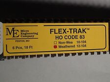HO Micro-Engineering #12-104 HO-SCALE Code 83 Flex Track WEA. BIGDISCOUNTTRAINS