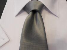 cravatta TIE  grigio chiaro argento  nuova da ingrosso a made in italy