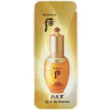 The history of Whoo Gongjinhyang Qi and Jin Essence 30pcs Anti-Aging 30ml + Gift