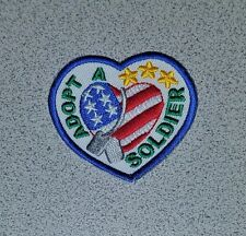 Girl Scouts Event Fun Patch Badge - ADOPT A SOLDIER