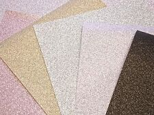 Glitter Backing Paper sheet Ribba Frame 23x23cms Pink, Silver, Black, Mink, Gold