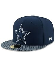New Era Boys' Dallas Cowboys Sideline 59FIFTY Fitted Cap 2017 Size 6 5/8