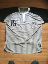 """1939 Negro National League"" Black Yankees Jersey XXXXL. All Star Collection"