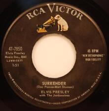 Elvis Presley Surrender / Lonely Man 45 rpm vg+ 1961 RCA Victor 47-7850