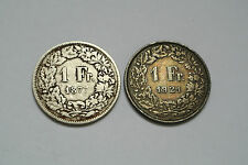 SUISSE 1 FRANC 1977 / 1921
