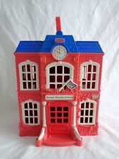 Fisher Price SWEET STREETS SCHOOL Loving Family Dollhouse 2002 NO ACCESSORIES