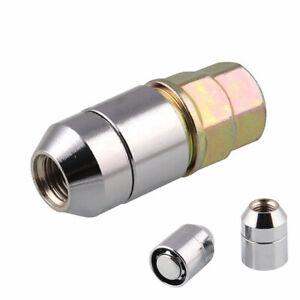Alloy Steel Wheel Nut Lug Nut M12x1.5 fit for Car Anti Theft Security Lock+1 Key