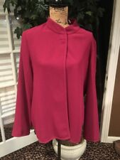 Women's Lightweight Jacket With Magnet Closure By Susan Graver Size XL