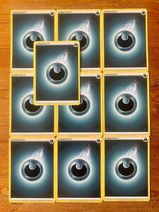 10x Dark Energy Cards - Pokemon TCG - NM/M - Basic Darkness - Various Designs