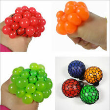 1Pc Funny Squishy Mesh Ball Grape Squeeze Toys Kids Children Gift Random Color