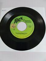 Alex y Orquesta Liberacion Corazon de Madera / Esos Ojitos Negros KAREN VG+ #922