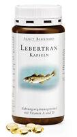 600 Lebertran Kapseln (3 Dosen) von Sanct Bernhard mit Vitamin A und D