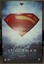 Superman Hot Toys MMS200 Movie Masterpiece The Man of Steel 1/6th