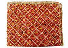 Mata ki chunni orhni women Dupatta red net chunri for pooja Ghar
