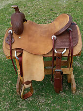 """17"""" Spur Saddlery Ranch Cutting Saddle (Made in Texas)"""
