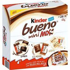 KINDER BUENO Mini Mix Box - Dark, Classic & White Chocolate Wafers 130g / 4.6oz