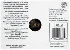 Philips H6054C1 Dual Beam Headlight