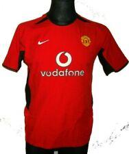 JERSEY SHIRT MANCHESTER UNITED FC MUFC NIKE 2002-04 HOME RED DEVILS 464375 OG