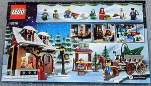 LEGO Seasonal Winter Village Bakery (10216)