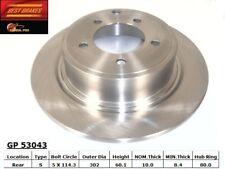 Disc Brake Rotor-FWD Rear Best Brake GP53043
