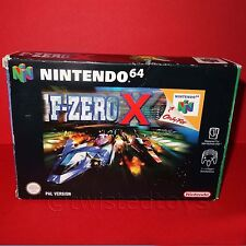VINTAGE 1998 NINTENDO 64 N64 F-ZERO X CARTRIDGE VIDEO GAME PAL VERSION BOXED