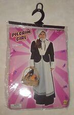 Pilgrim Girl Child's Costume~Halloween~Size Medium 8-10~Forum Novelties 59579