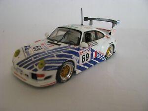 """VITESSE V98123 PORSCHE 911 GT2 """"NOURRY COMPETITION"""" #69 LE MANS 1998 1/43EME"""