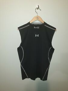 **NEW** Black UNDER ARMOUR Heatgear COMPRESSION Vest Size XL