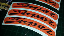 Vespa GTS Super Sport Rim tape Wheel stickers EXCLUSIVE DESIGN 4 125 200 250 300